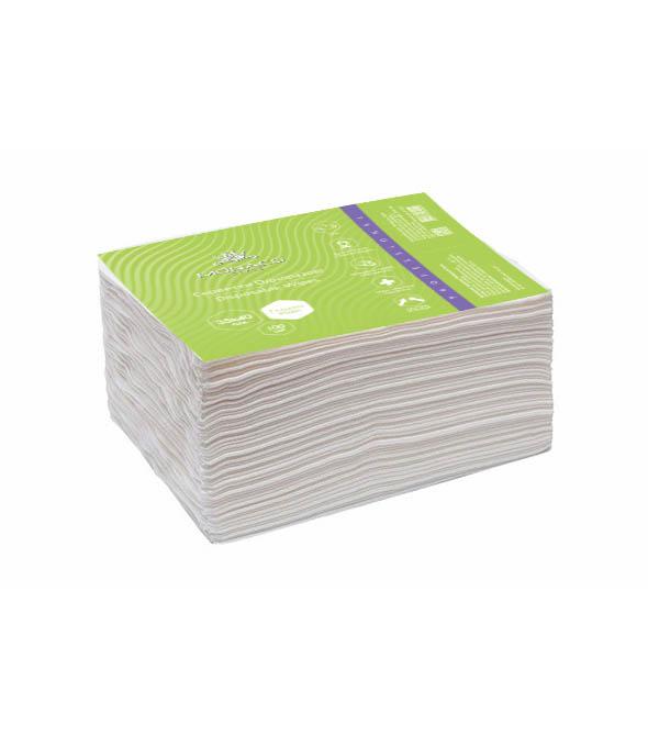 Одноразові серветки 35х40 см (гладкі), 100 шт.